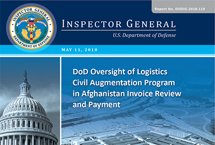 Home dod oversight of logcap in afghanistan invoice review and payment fandeluxe Choice Image