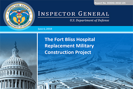 Home the fort bliss hospital replacement military construction project fandeluxe Images