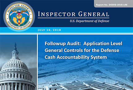 Followup Audit: Application Level General Controls for the DCAS