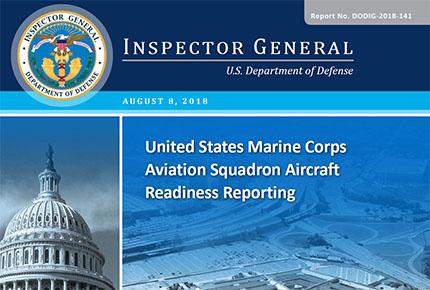 USMC Aviation Squadron Aircraft Readiness Reporting