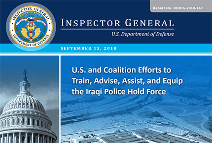 U.S. and Coalition Efforts to Train, Advise, Assist, and Equip the Iraqi Police Hold Force