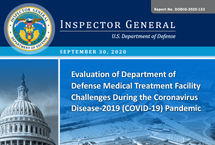 Evaluation of Department of Defense Medical Treatment Facility Challenges