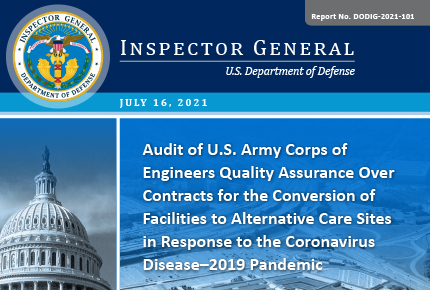Audit of U.S. Army Corps of Engineers