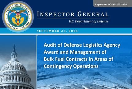 Audit of Defense Logistics Agency