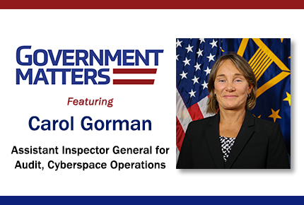 AIG for Audit, Cyberspace Operations, Carol Gorman, on DoD's Management of the Cybersecurity Risks for GPC Purchases
