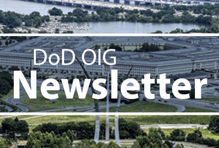DoD OIG Newsletter August 2019