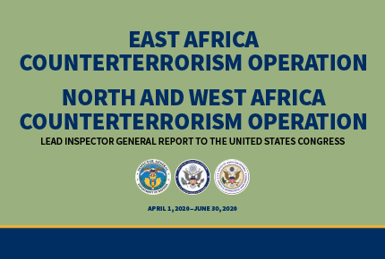 Lead Inspector General for East Africa And North And West Africa Counterterrorism Operations
