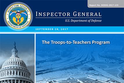 The Troops-to-Teachers Program